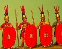 Roman Hastati or Principes