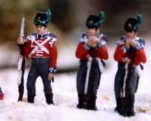 British infantry Footguards