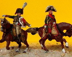 French Marshall Bessieres + Guard Colonel
