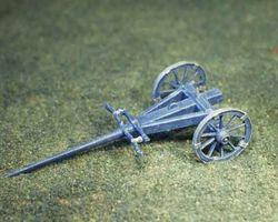 Artillery limber for 12 pdr gun