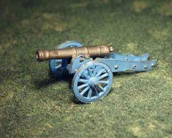 British 18 pnd gun