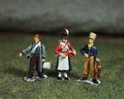 French Camp follower set