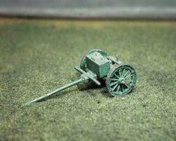 Russian artillery limber