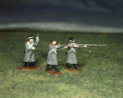 Russian Line infantry firing