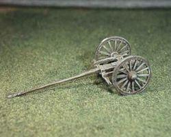 Artillery limber for heavy guns