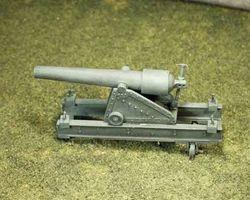 100 pdr siege gun, iron carriage