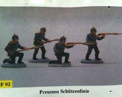 War 1870 Prussian Line infantry