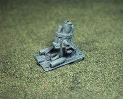 German Heavy mine thrower