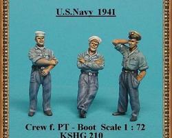 US Navy crew for PT-boat  set 1