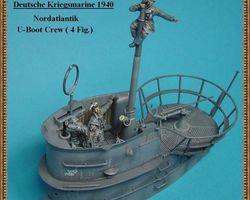 German navy crew U-boot set 4