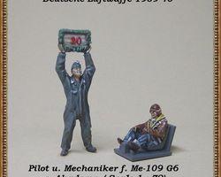 German Luftwaffe pilot and groundcrew