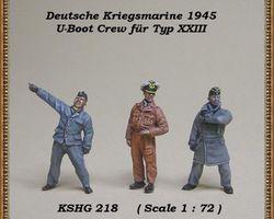 German navy crew U-boot set 5