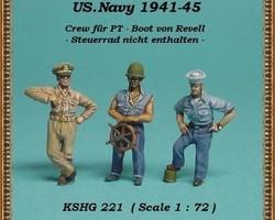 US Navy crew for PT-boat  set 2