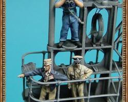 US Navy crew for Gato-class U-boat set 4