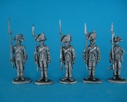 French Line Fusiliers 1792-1804 set 6
