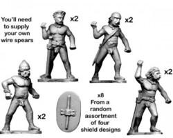 Celt Naked Warriors