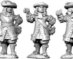 Dutch officers set 2 1672