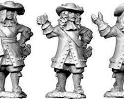 Dutch Officers set 3 1672