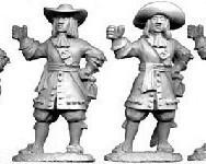 Dutch Unarmoured Pikemen 1672