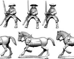 Dutch Cavalry in Buff coat 1672