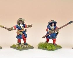 Artillery crew 1672