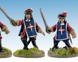 French Kings Musketiers 1672