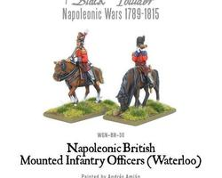 British mounted Officers 1815