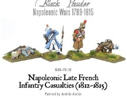 French infantry casualties (Late)