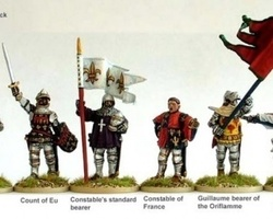 French High Command Agincourt on foot