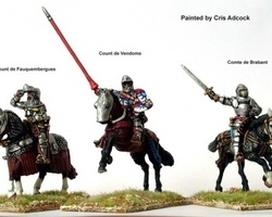 French High Command Agincourt mounted