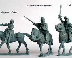 French Joan of Arc a.o. Mounted