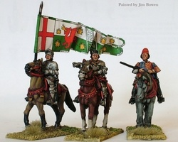 Lancastrian High Command Mounted War of the Roses