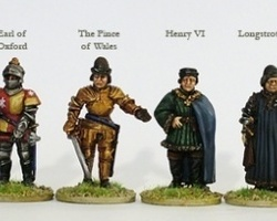 Lancastrian High Command on foot War of the Roses