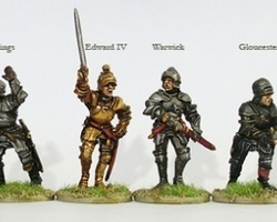 Yorkist High Command on foot War of the Roses