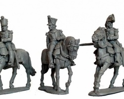 French Infantry Colonels mounted