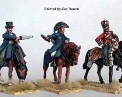 Wellington, Uxbridge & Picton mounted