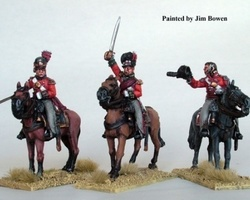 British Infantry Colonels mounted