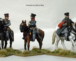 Prussian High Command mounted