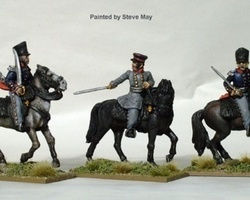 Prussian Field Officers Mounted
