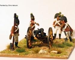 Austrian Artillery firing