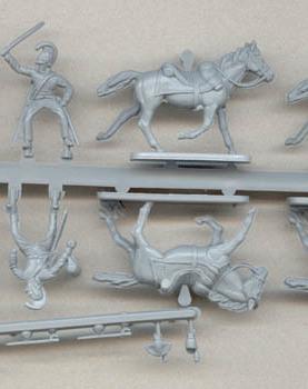 """Austrian """"Cheveaux Leger"""" Light cavalry"""