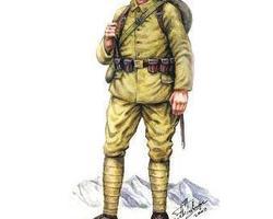 Ottoman-Turkish infantry