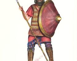 Assyrian infantry