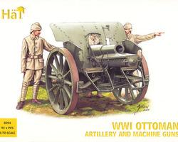 Ottoman Artillery & MG's