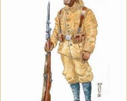German Colonial infantry