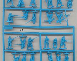 French infantry with kepi