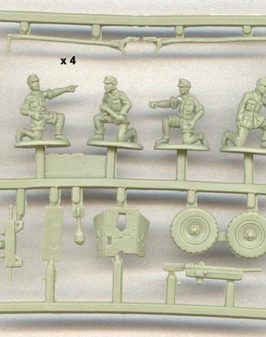 German PAK36 guns