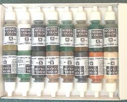 Colorset Allied colors WW2