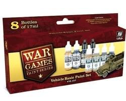 Paintset Vehicles basic