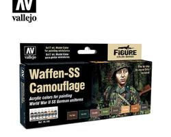 Paintset Waffen SS camouflage